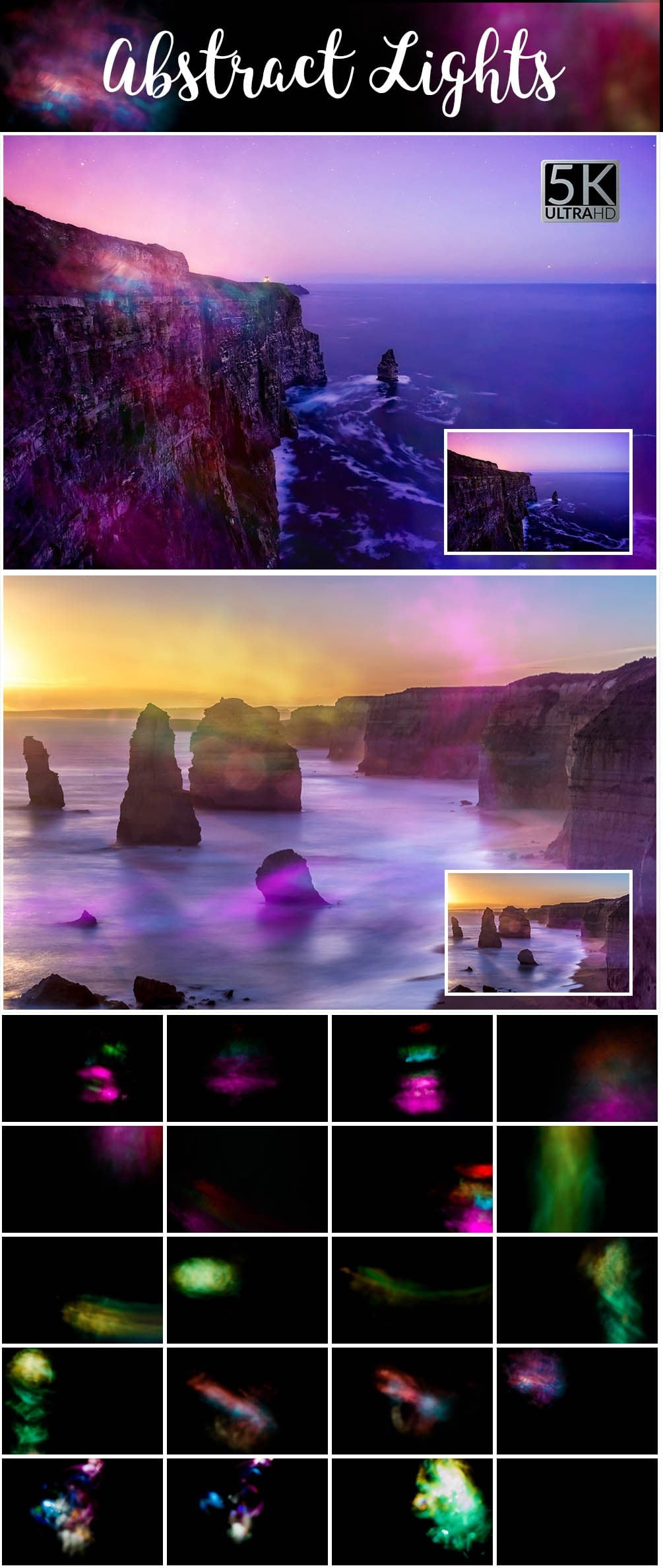 Over 11 400 Aesthetic Overlays Bundle SPECIAL OFF 98% - 32 Abstract Lights min