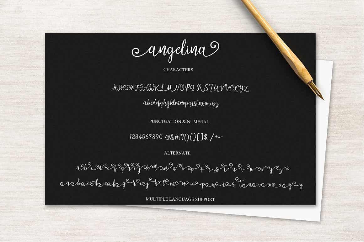 Hand Lettered Bundle: 9 Perfect Fonts - $12 ONLY - 4 min 6