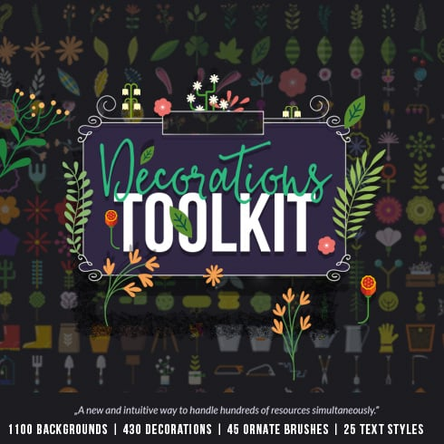 Decorations Toolkit: 99% OFF - 490