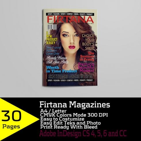 Firtana Magazines A4/US Letter - just $5 - 600 10 490x490