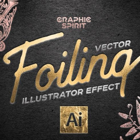 Vector Foil TOOLKIT For Illustrator - 600 9 490x490