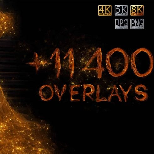 SPECIAL OFF 98% – over 11 400 Glorious Overlays Bundle