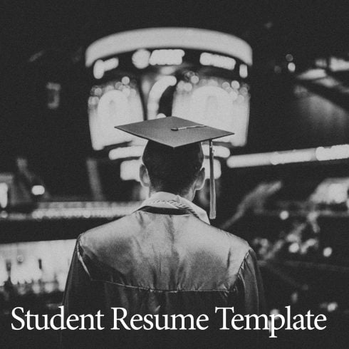 Best Grad Student Resume Templates - Print Ready 300 DPI Res - 604 490x490
