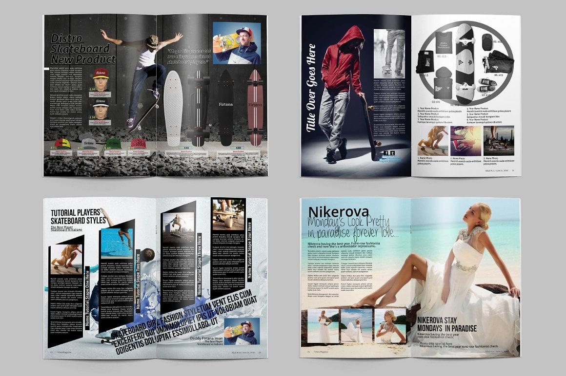 Firtana Magazines A4/US Letter