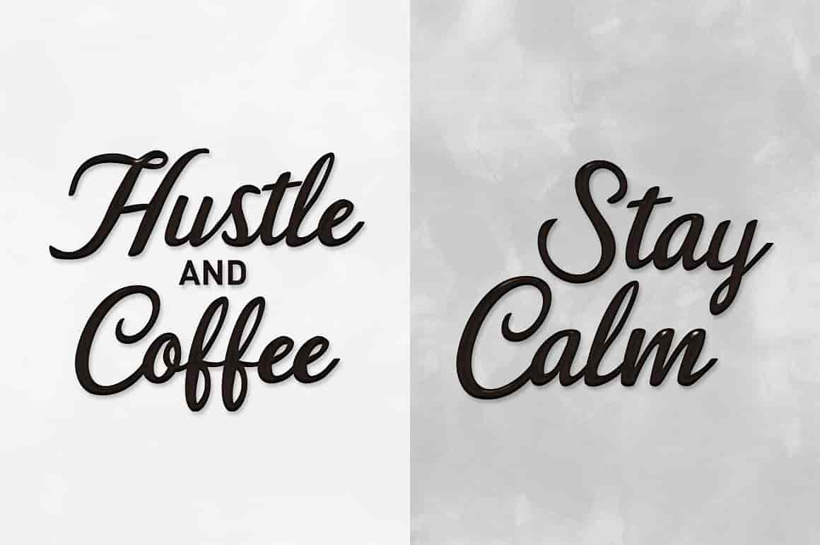 Hand Lettered Bundle: 9 Perfect Fonts - $12 ONLY - 8 min 3