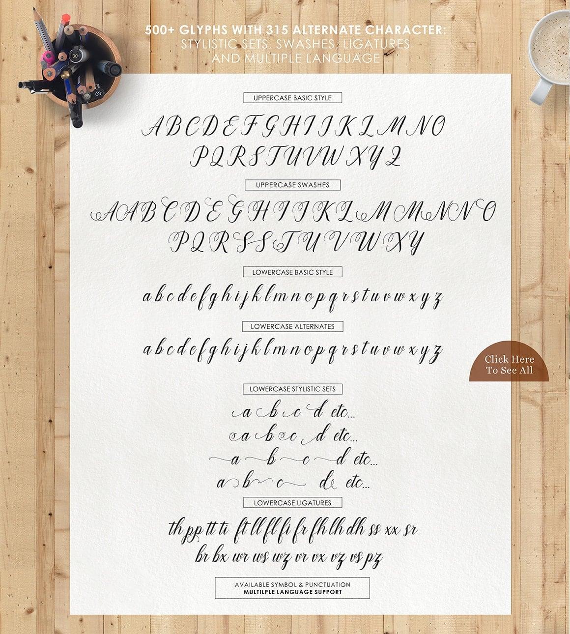 16 Handwritten Fonts - $15 ONLY - 8 min