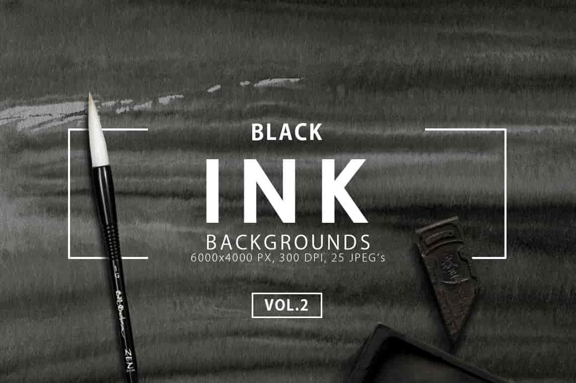 Ink&Marble Backgrounds & Textures Bundle: 900+ IMAGES - $18 Only - Black Ink Backgrounds 2 prev1 min