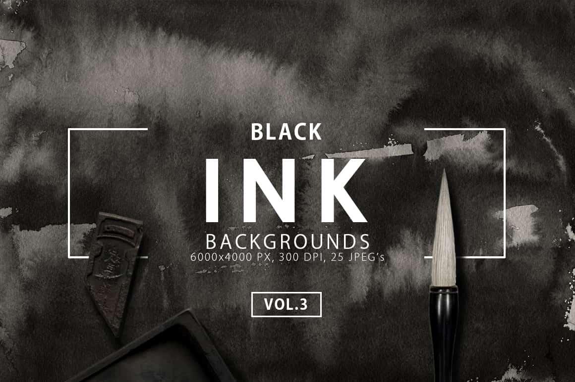Ink&Marble Backgrounds & Textures Bundle: 900+ IMAGES - $18 Only - Black Ink Backgrounds 3 prev1 min