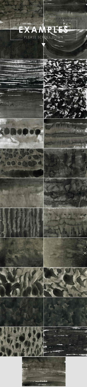 Ink&Marble Backgrounds & Textures Bundle: 900+ IMAGES - $18 Only - Black Ink Backgrounds 4 prev2 min