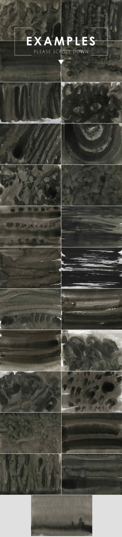 Ink&Marble Backgrounds & Textures Bundle: 900+ IMAGES - $18 Only - Black Ink Backgrounds prev2 min
