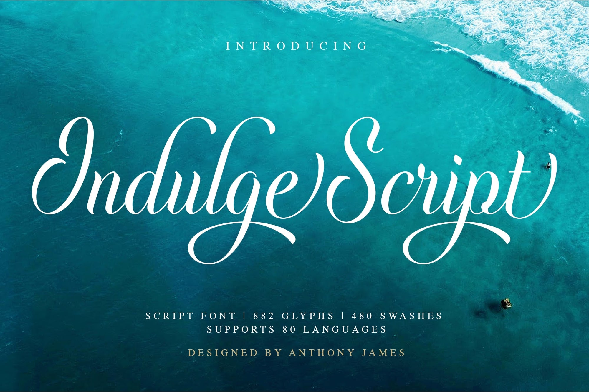 20 Best Psychedelic Fonts for Printing, Websites, Logos and Applications - Indulge Script 1 min