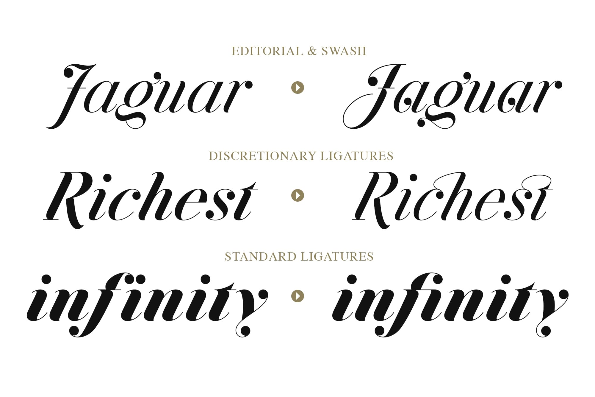 Simple Fonts - 33 Fonts in 13 Families Bundle - Jitzu 3 min