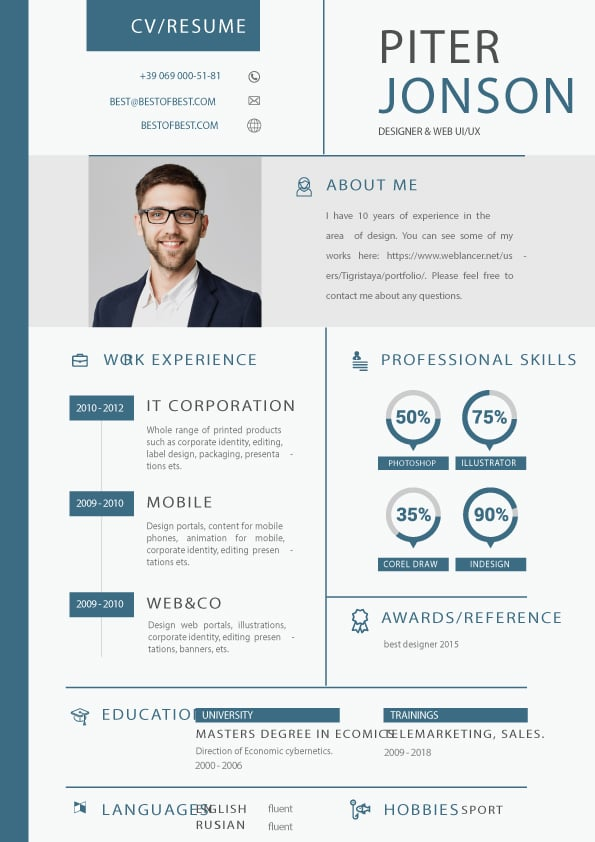 Downloadable Resume Templates