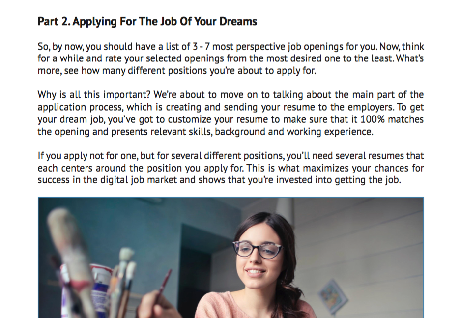 """""""How to Find a New Job?"""" - Free eBook - Screen Shot 2018 09 30 at 11.50.03 AM"""
