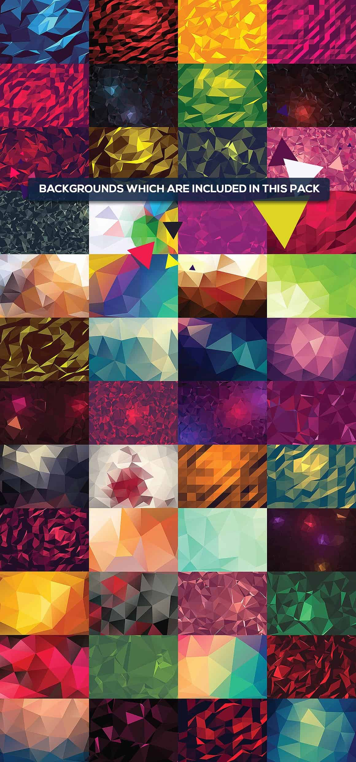 296 Vector Geometric Backgrounds - just $15 - all 51 bg min