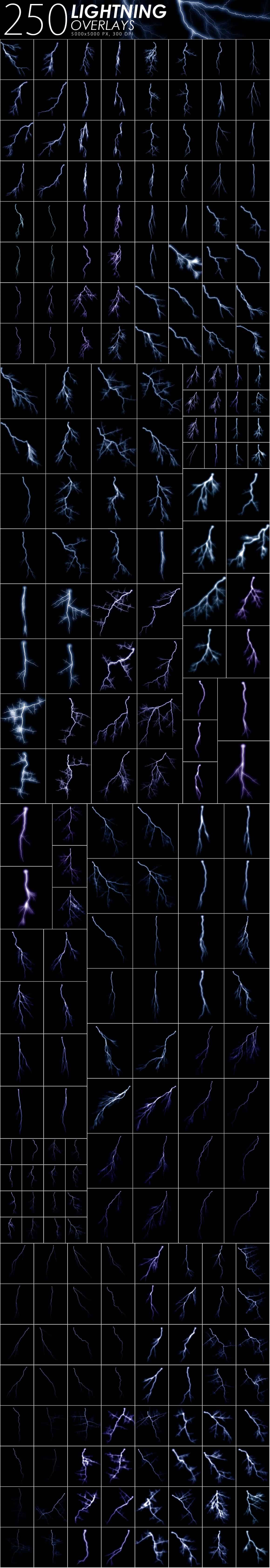 525 Overlays: Rain, Snow, Lightning - just $15 - lightning prev min