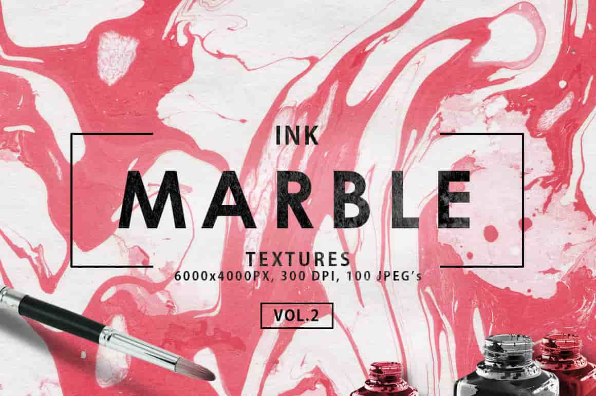 Ink&Marble Backgrounds & Textures Bundle: 900+ IMAGES - $18 Only - marble ink paper textures 2 first image min