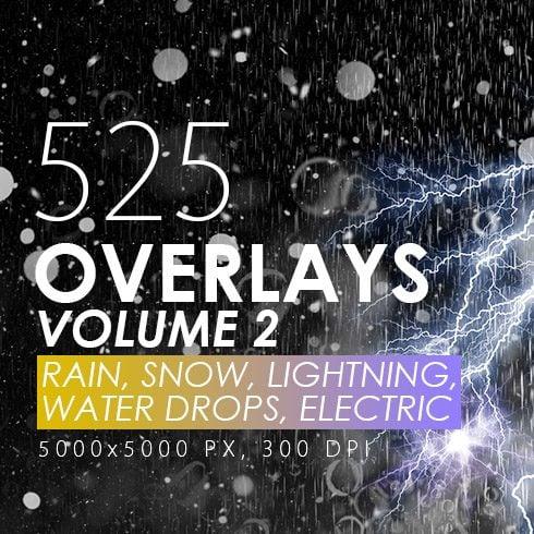 Overlays: Rain, Snow, Lightning main cover.