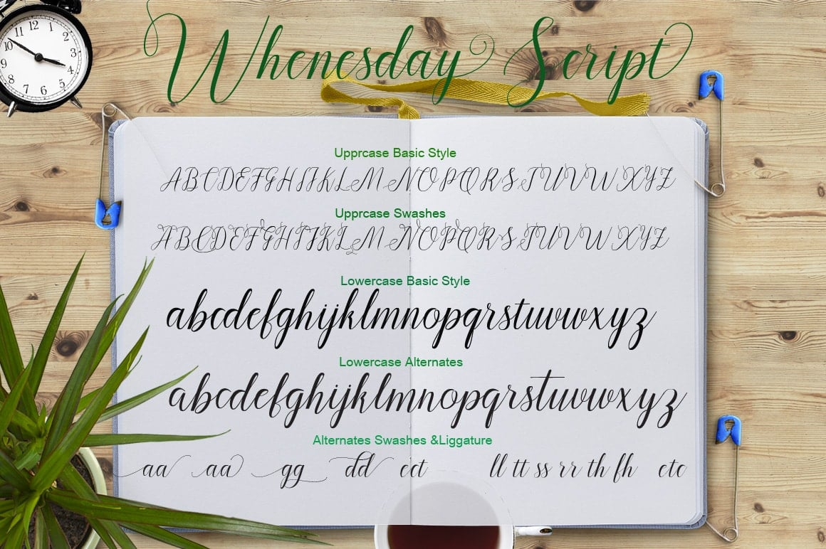 16 Handwritten Fonts - $15 ONLY - tampilan 5 min 2