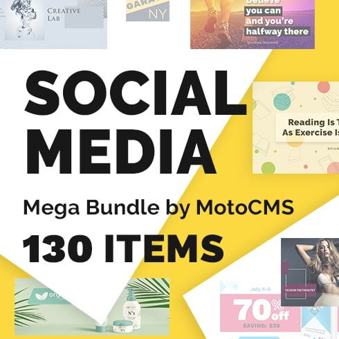 Social Media Mega Bundle by MotoCMS – Just $19 - 01 U0433U043bU0430U0432U043dU0430U044f