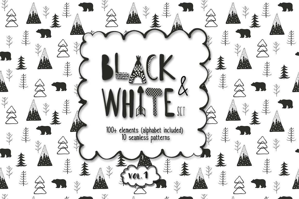 150+ Free Christmas Graphics: Fonts, Images, Vectors, Patterns & Premium Bundles - 1 1 1 2
