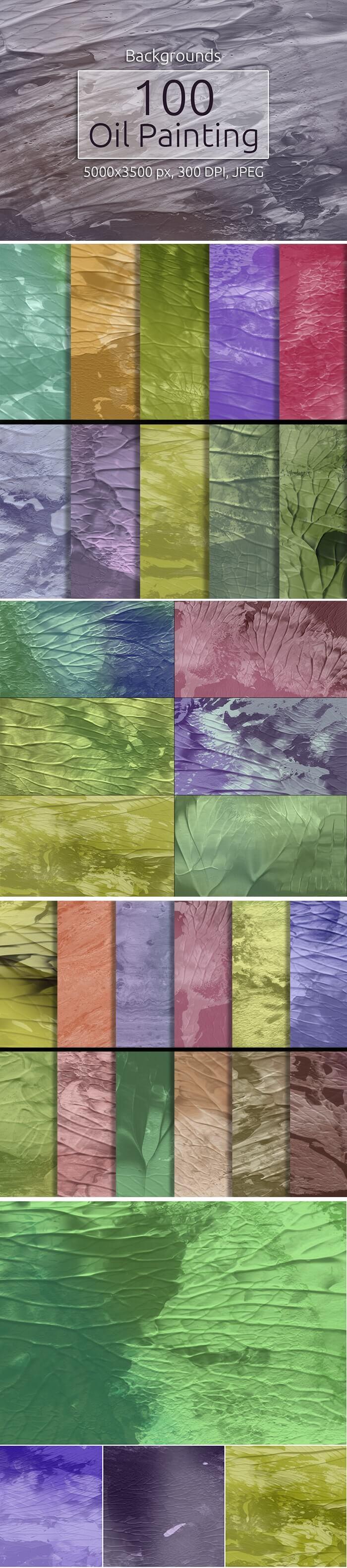 2000+ High Resolution Digital Backgrounds Bundle - $29 - 100 Oil Painting Backgrounds