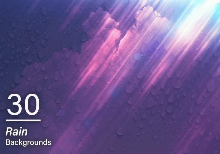 2000+ High Resolution Digital Backgrounds Bundle - $29 - 30 Rain Backgrounds Main