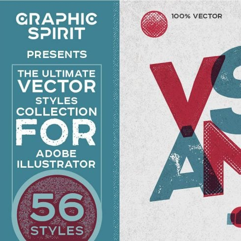 VECTOR Ink Effects For Adobe Illustrator - just $9 - 600 1 490x490