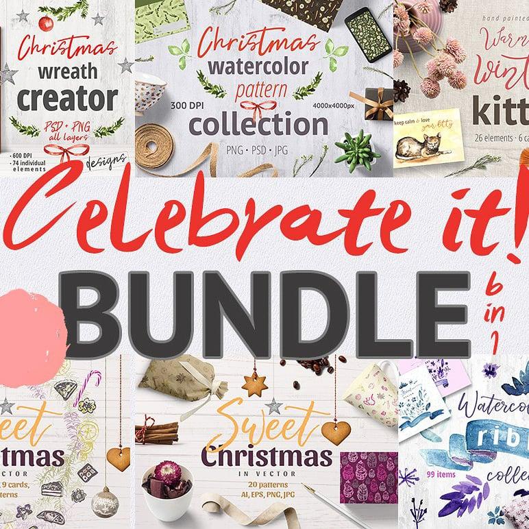 Celebrate it! - Mega Christmas Bundle main cover.