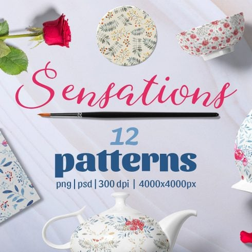 Sensations Pattern Set - $8 ONLY - 600 27 490x490