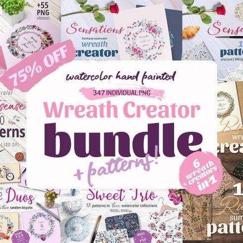 Wreath Creator Bundle Mega Bundle + patterns - $19 - 600 34 490x490