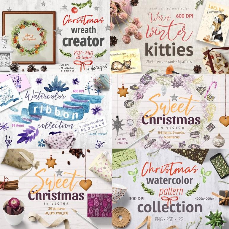 Celebrate it! - Mega Christmas Bundle cover image.