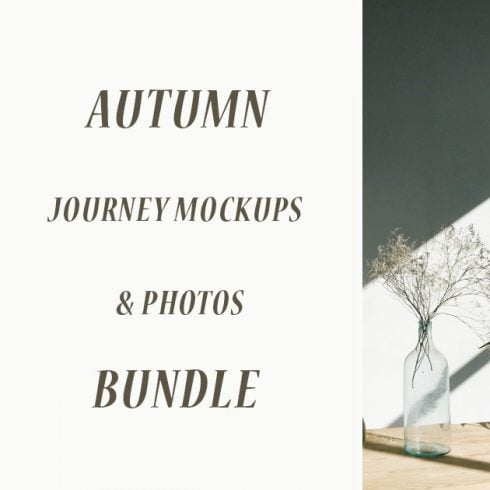 Autumn Journey Mockups & Photos Bundle - 601 15 490x490