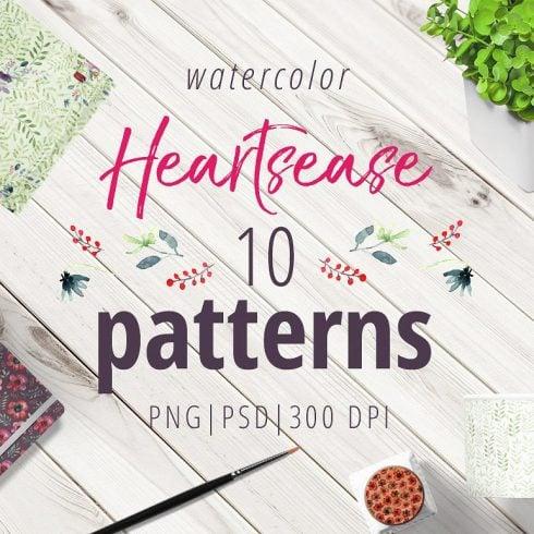 Heartsease Pattern Set - $8 ONLY - 601 27 490x490