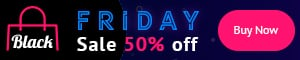 Black Friday Banners: Google AdSense and  Social Media Banners