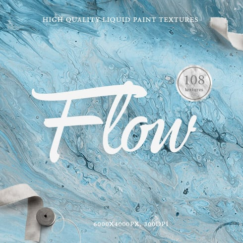 108 Flow Liquid Marble Backgrounds & Textures - $10 ONLY - Prev1 490x490