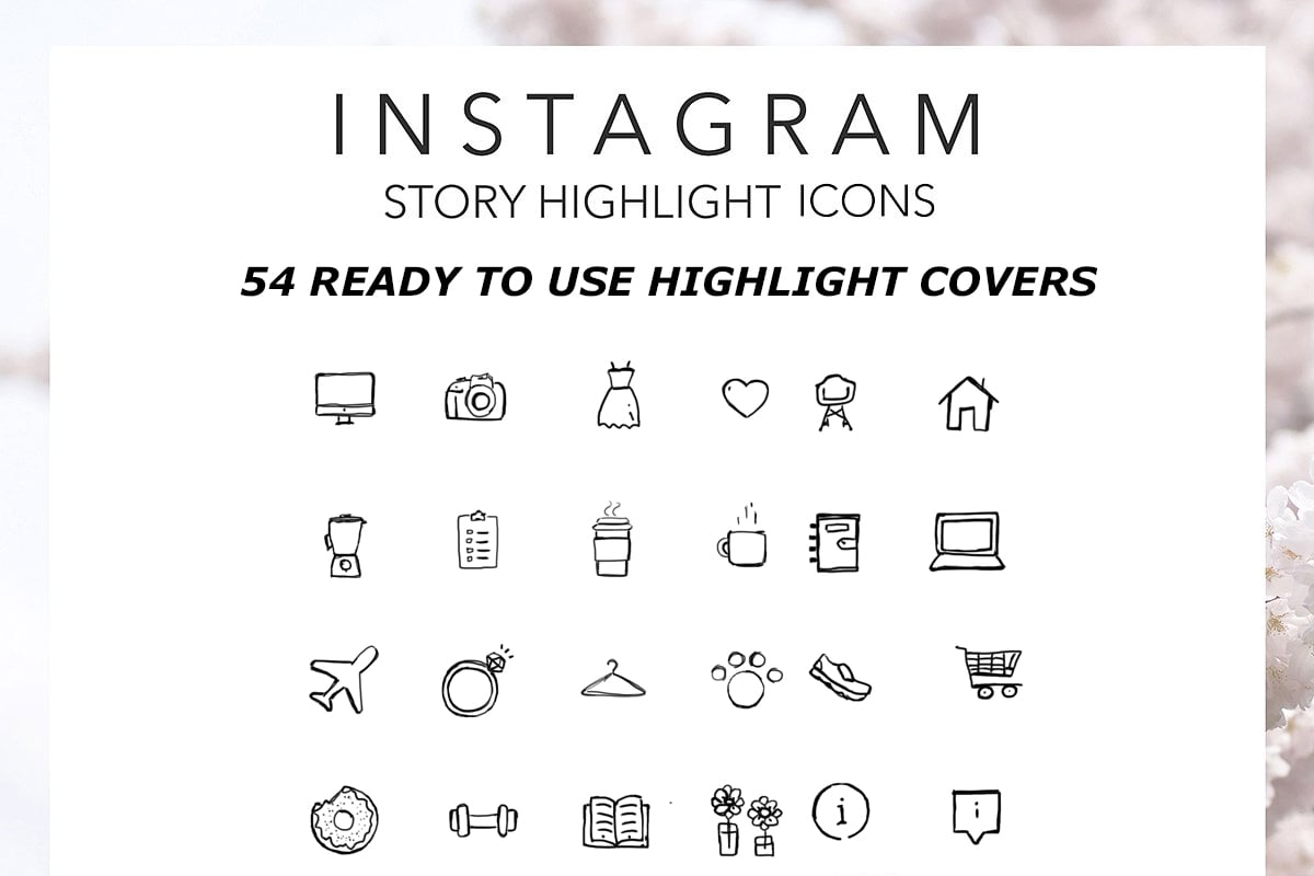 TOP Instagram Highlight Icons - Only $15 - Untitled 1