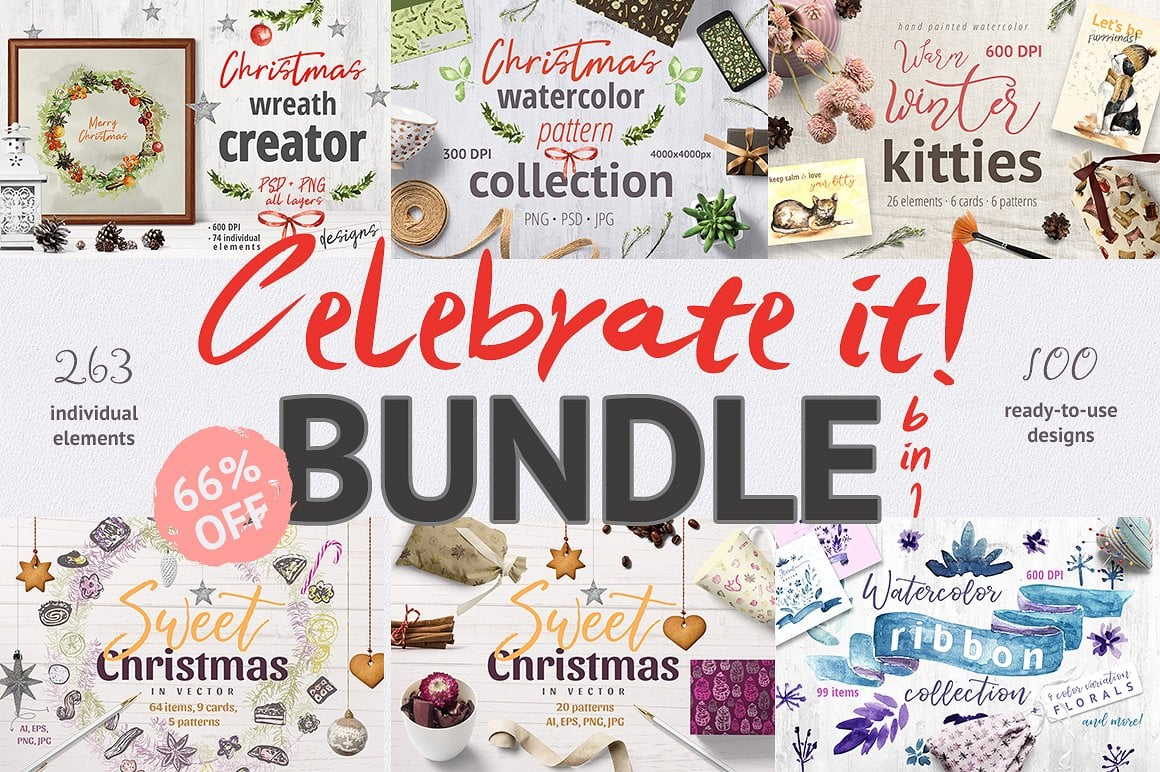 Celebrate it! - Mega Christmas Bundle.