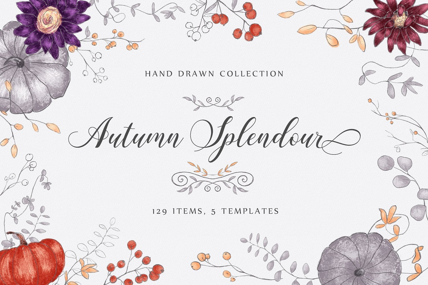 70+ Best Fall & Autumn Clip Art Collection in 2020 - presentation1cover 1