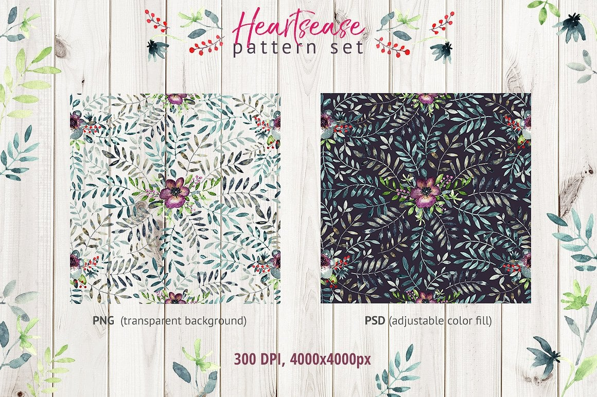 Heartsease Cool Patterns - $8 ONLY - presentation2 1 8