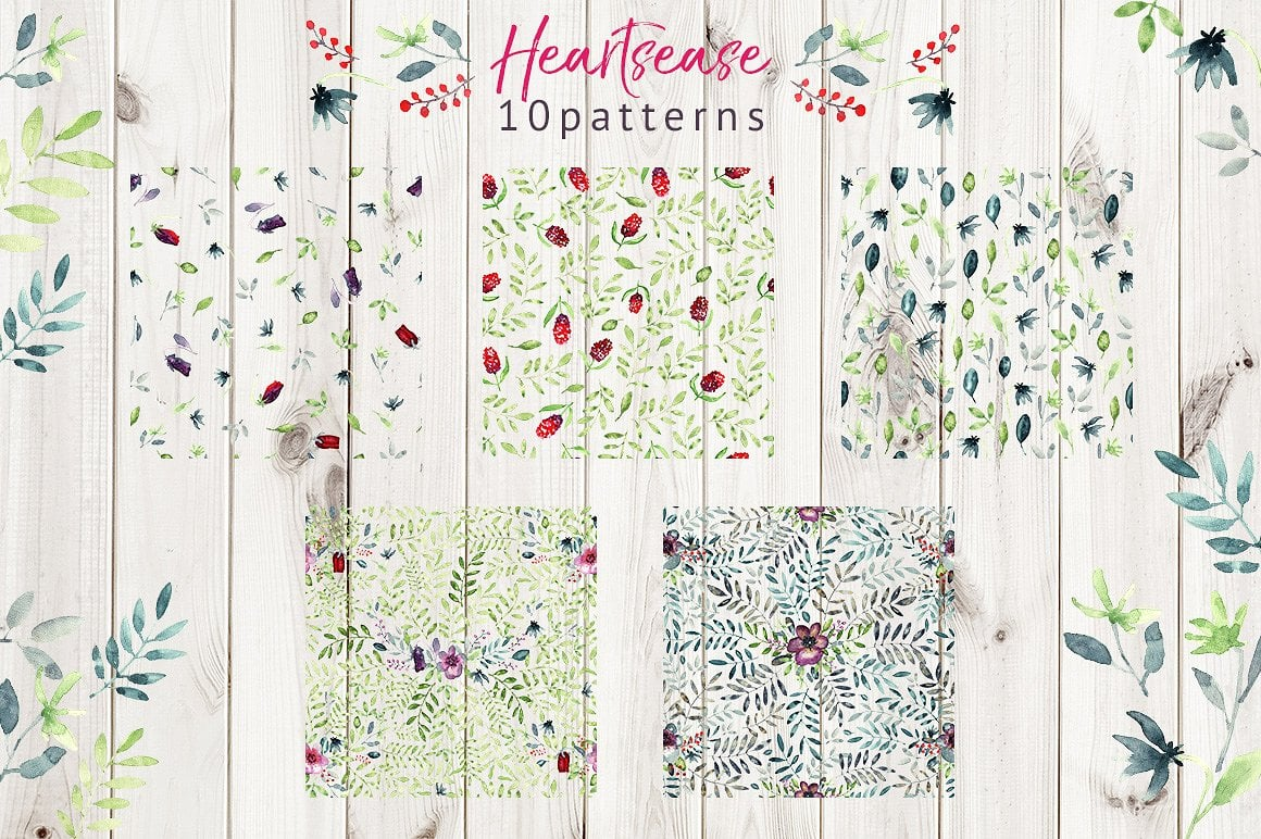 Heartsease Cool Patterns - $8 ONLY - presentation3 1 9
