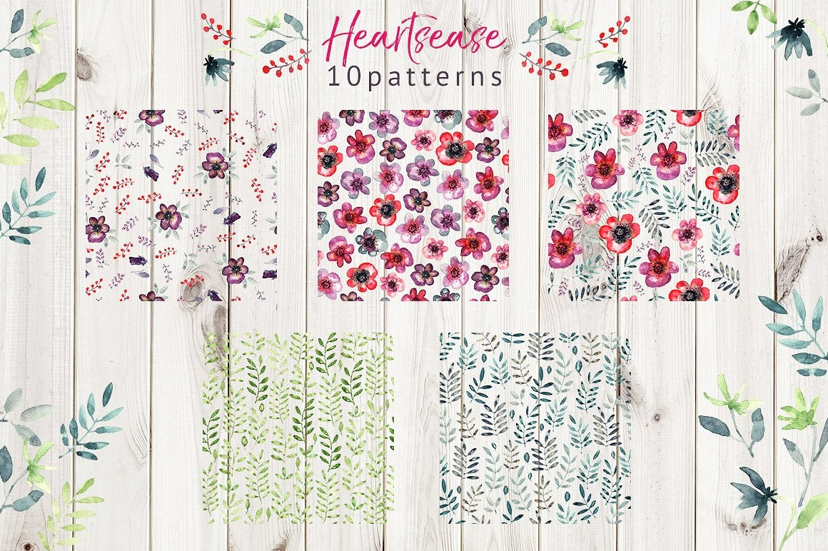 Heartsease Cool Patterns - $8 ONLY - presentation4 1 6