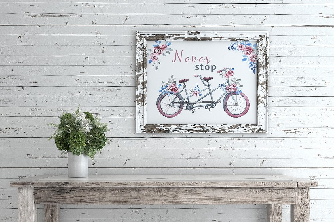 Trio of Duos: 3 Wreath Creators and 3 tandem bicycles - just $17 - presentation6 1 5