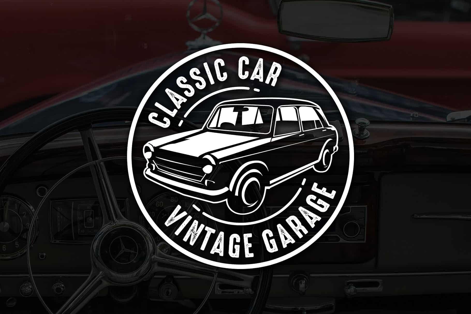 Classic Car Vintage Badge & Logo