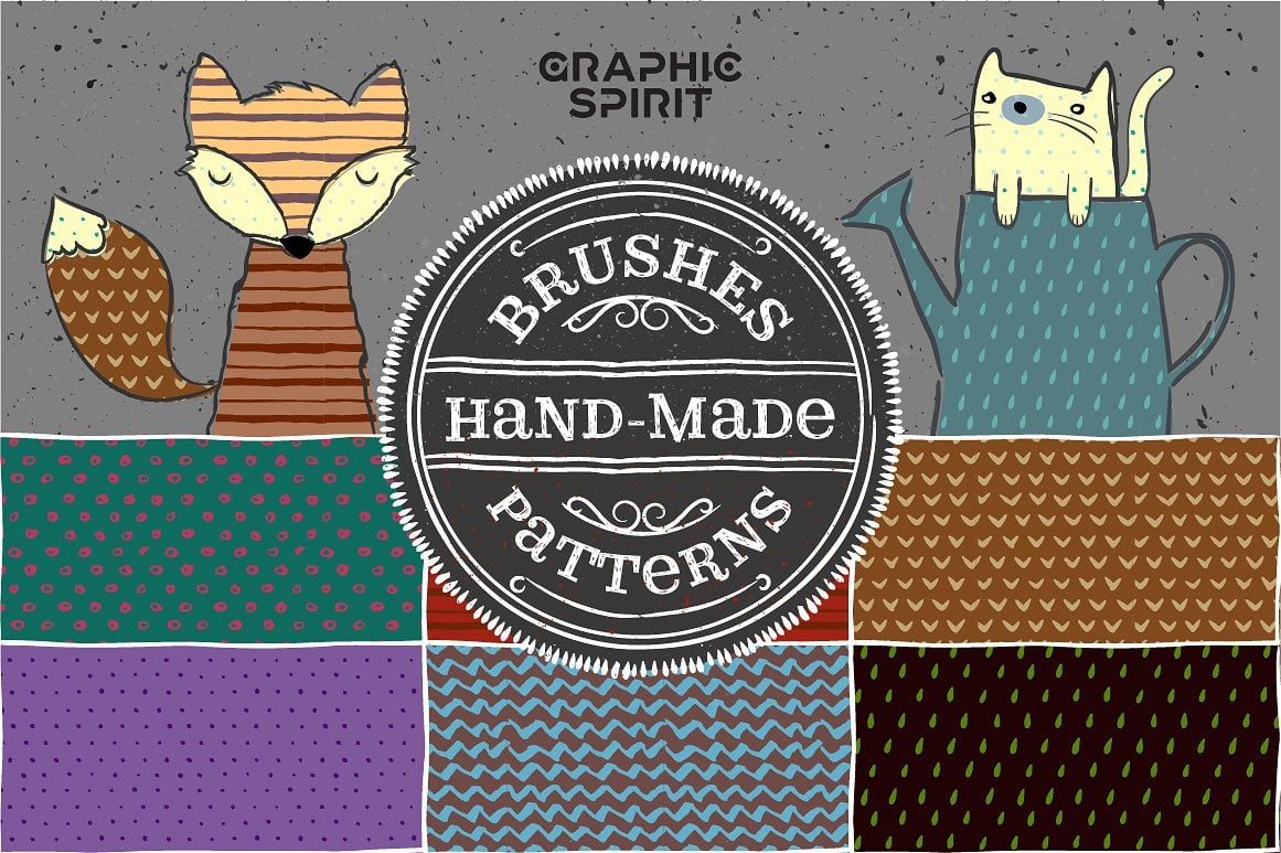 Hand Made Brushes & Patterns - $5 ONLY - view 02 1 1