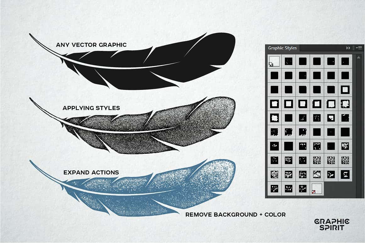 Vector Stamp Effects Styles - just $15 - view2 02 min