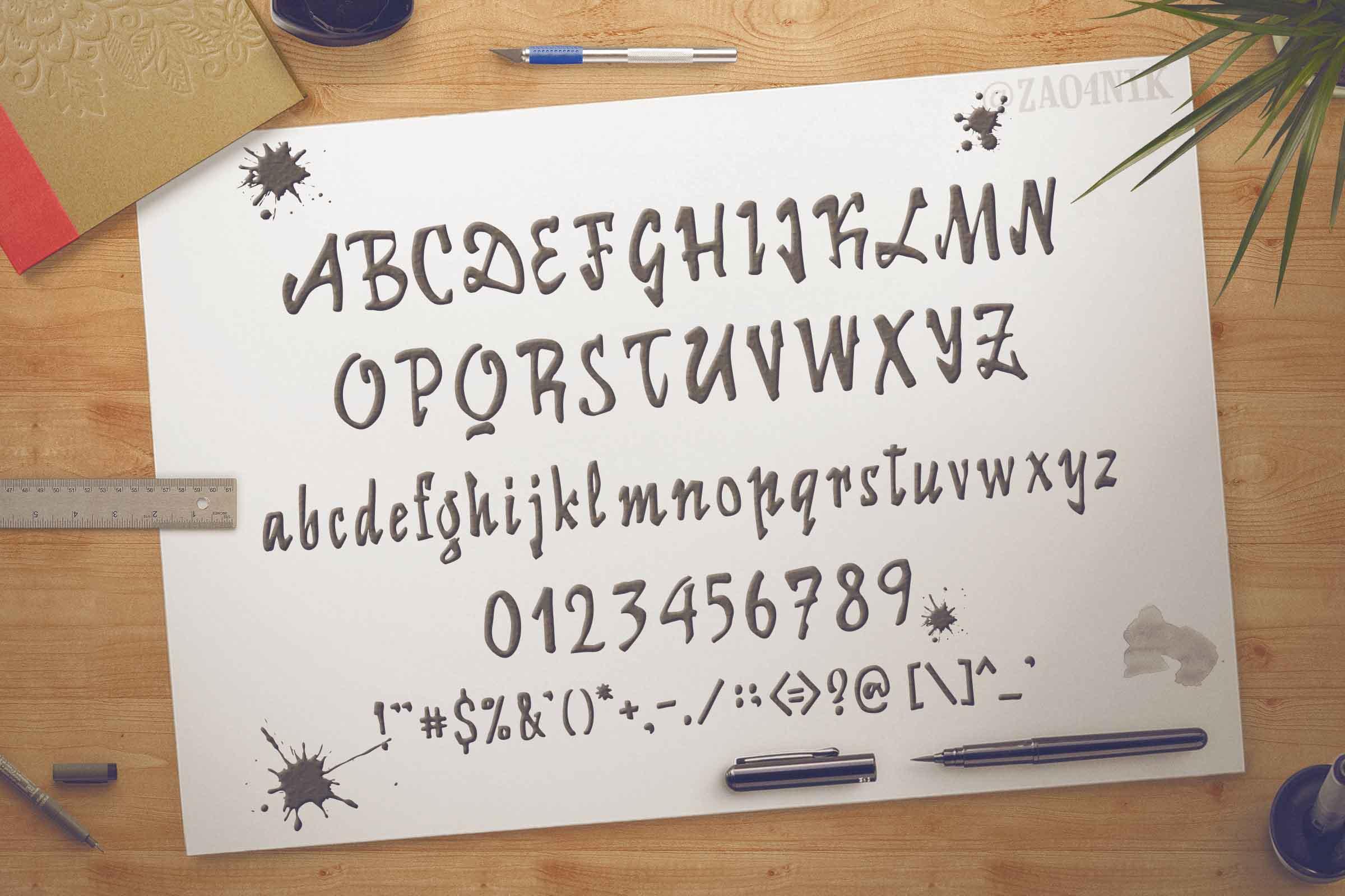 Fonts for Lettering