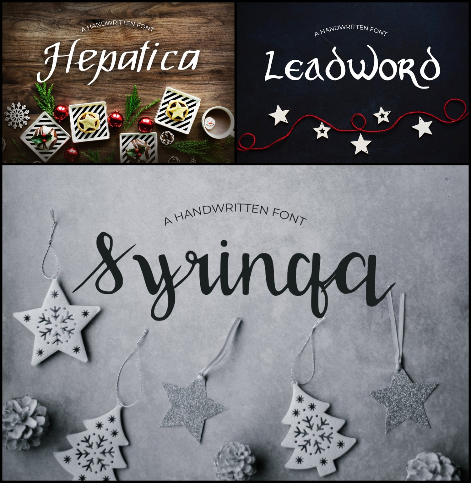 15 Creative Handmade Fonts - $19 ONLY - 1