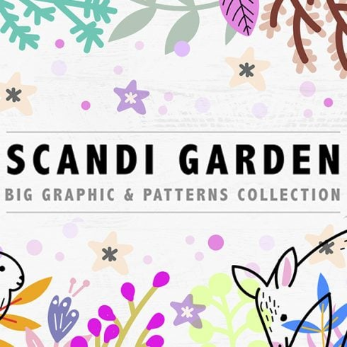 Scandi Garden: Graphic & Pattern Collection - 1 3 490x490
