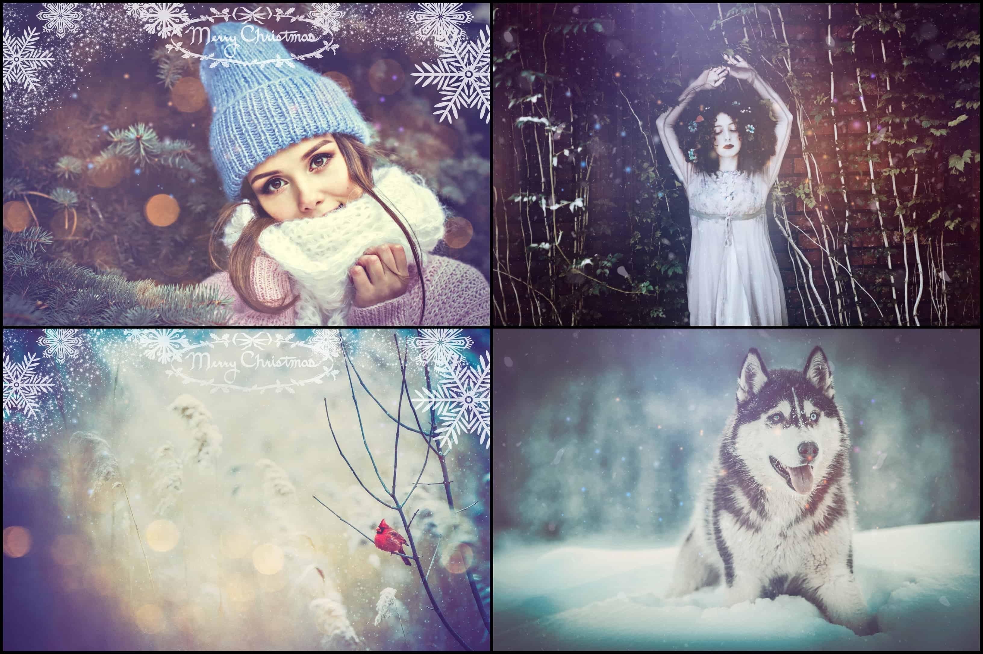 2500+ Christmas & Winter Overlays Bundle - $29 - 2 min